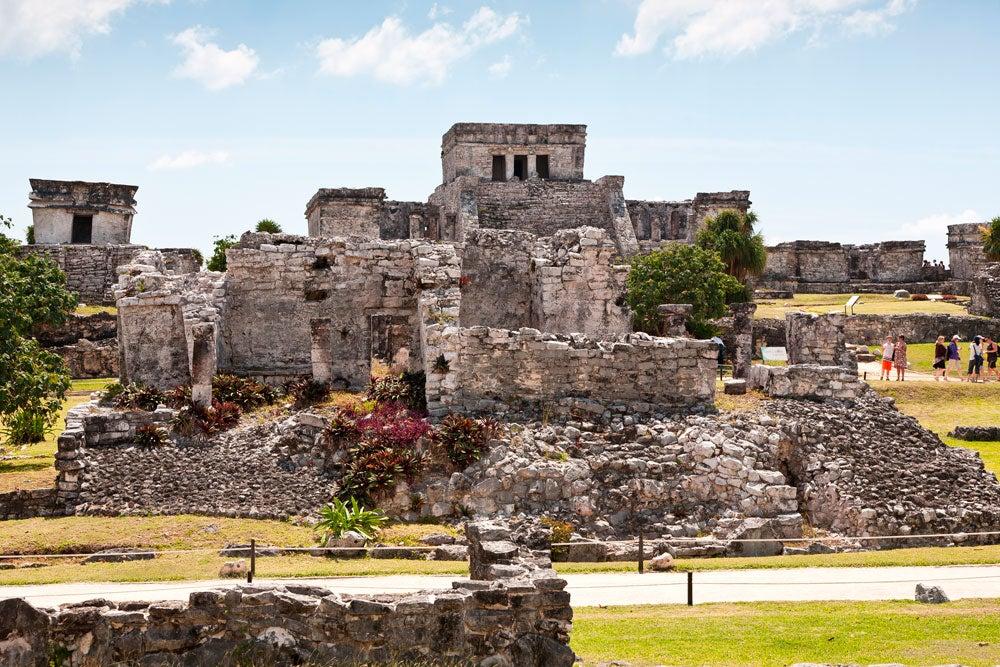 Ruinas de El Castillo de Tulum