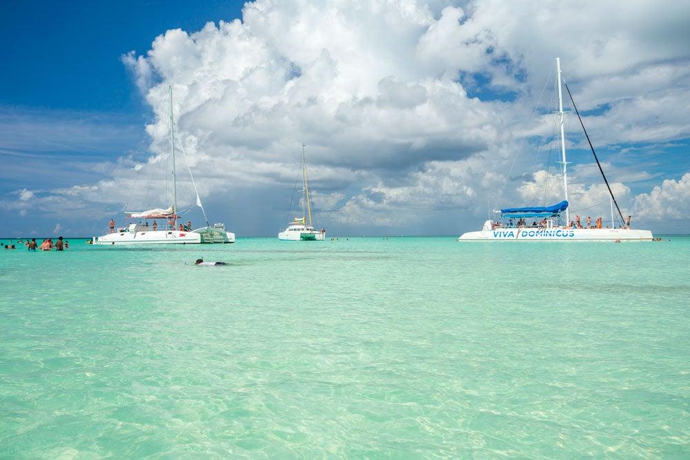 actividades que hacer en Punta Cana catamarán