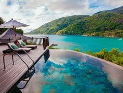 Villa en un hotel de Seychelles