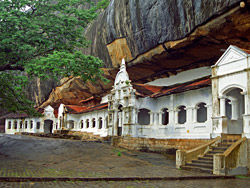 Templo de la roca, en Dambulla