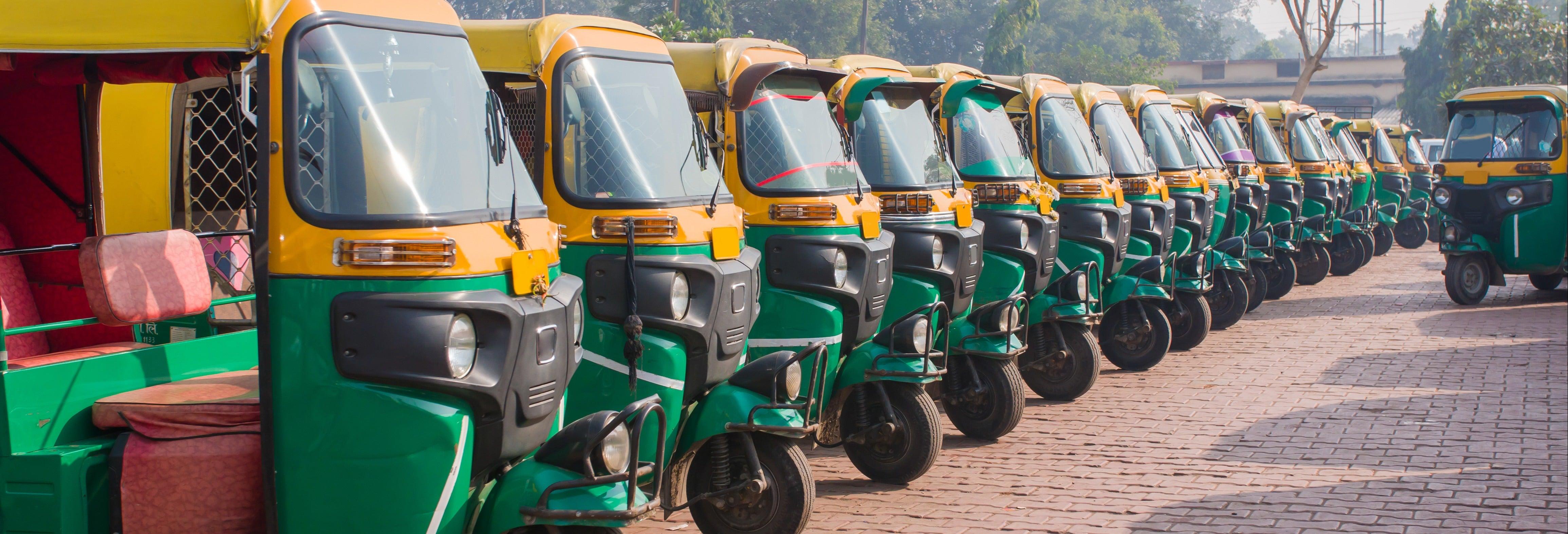 Tuk Tuk Tour of Agra