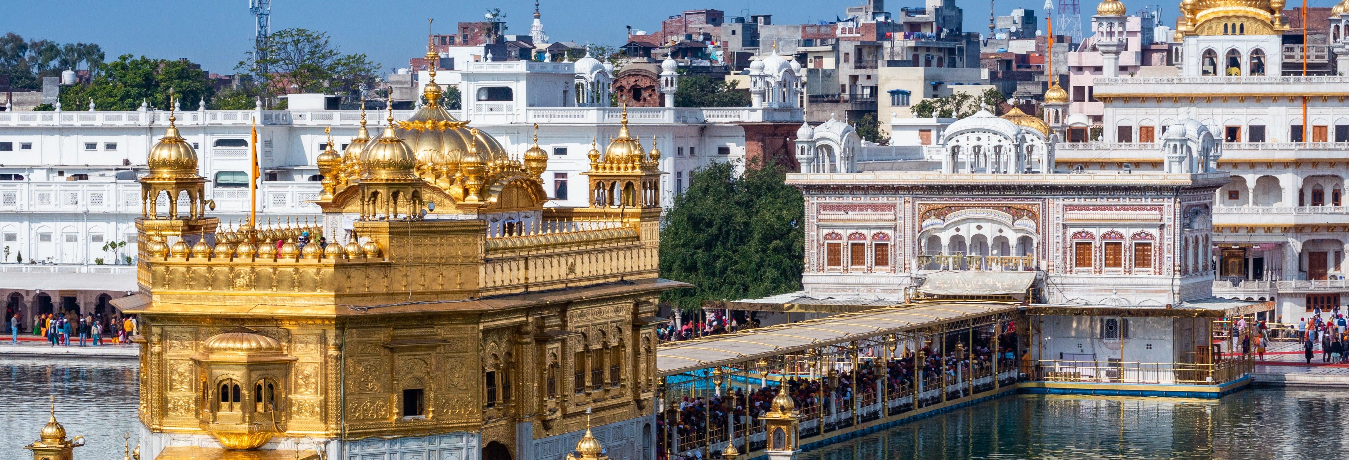 Visita guiada por Amritsar e seus templos