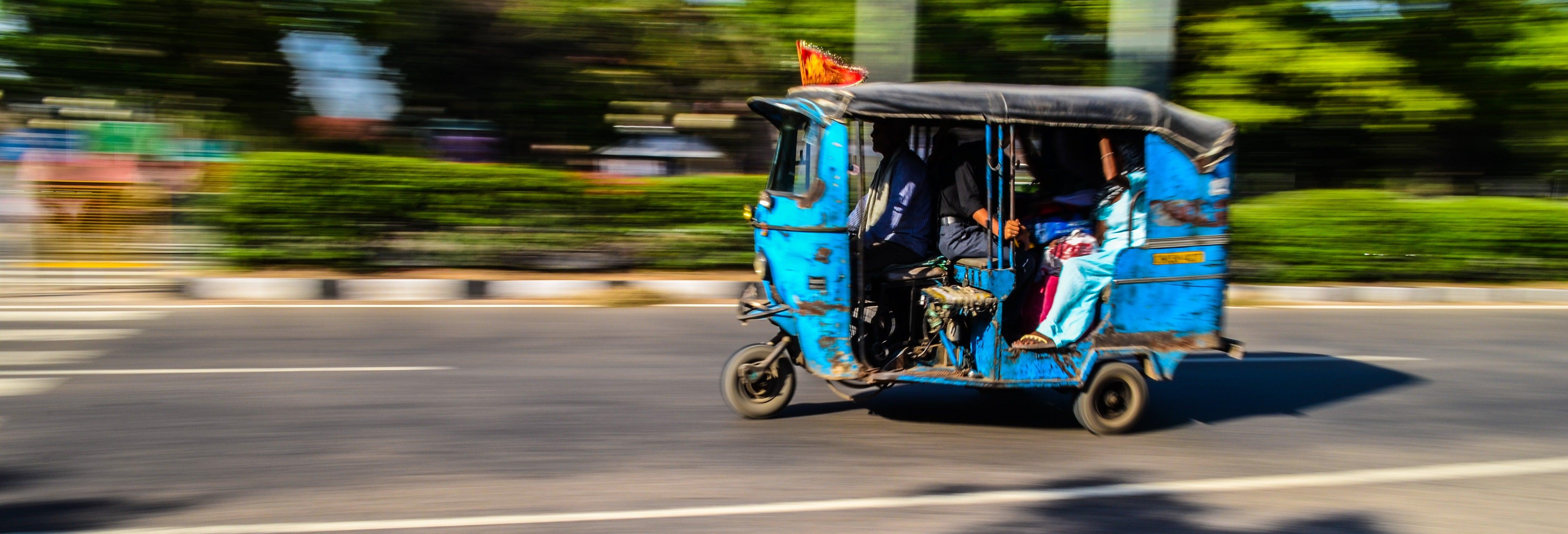 Tour en tuk tuk por los museos de Chandigarh