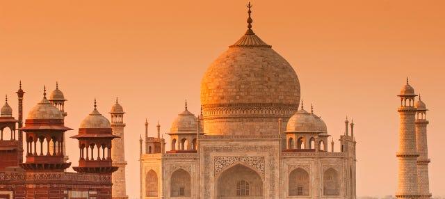 Excursión al Taj Mahal al amanecer