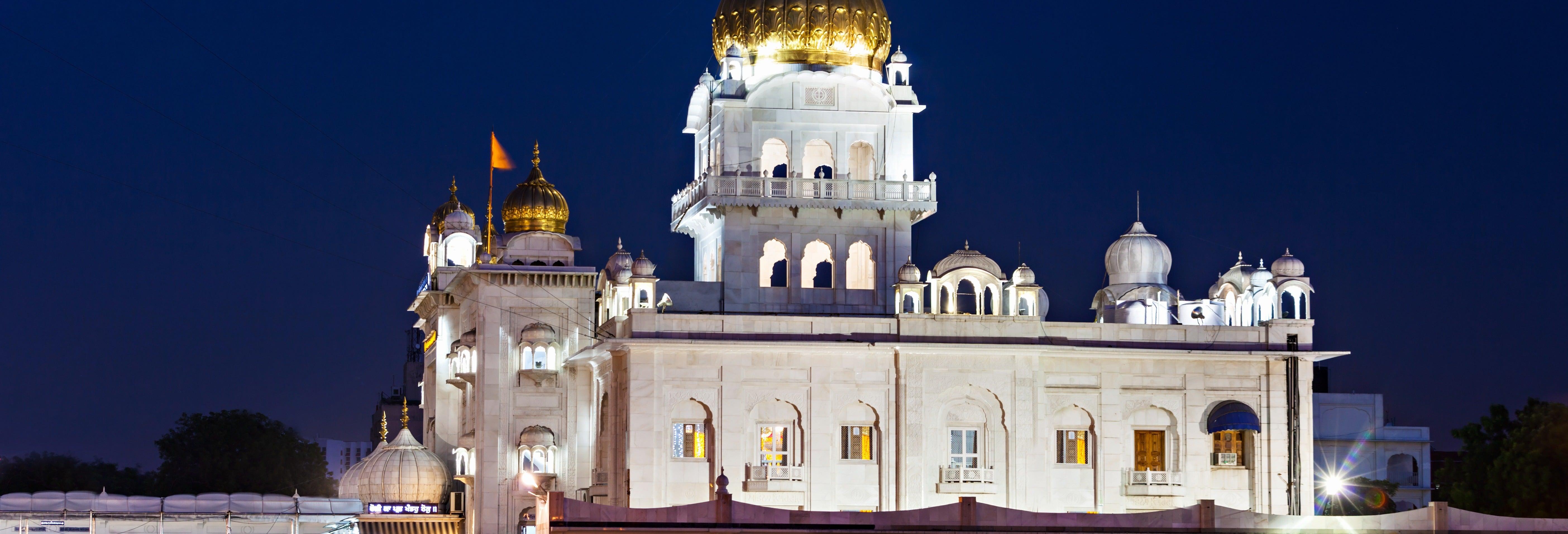 Visite nocturne dans Delhi