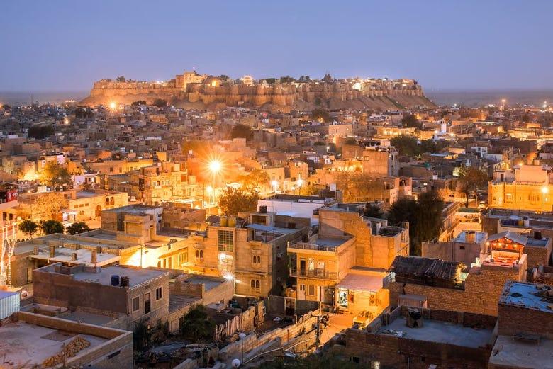 Jaisalmer at Night Walking Tour - Book Online at Civitatis.com