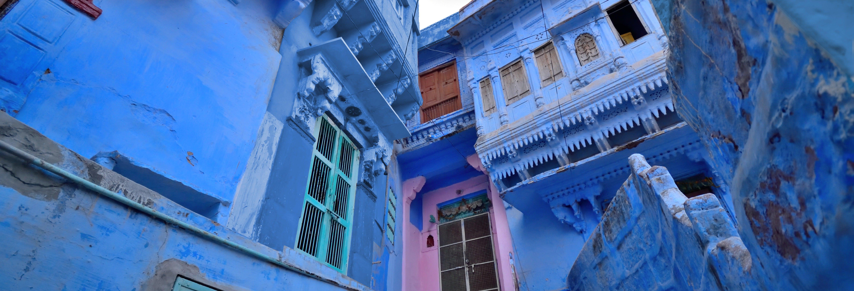 Blue City Walking Tour
