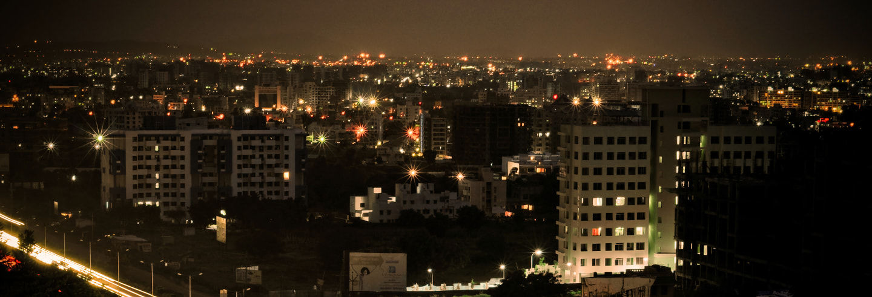 Tour noturno por Pune