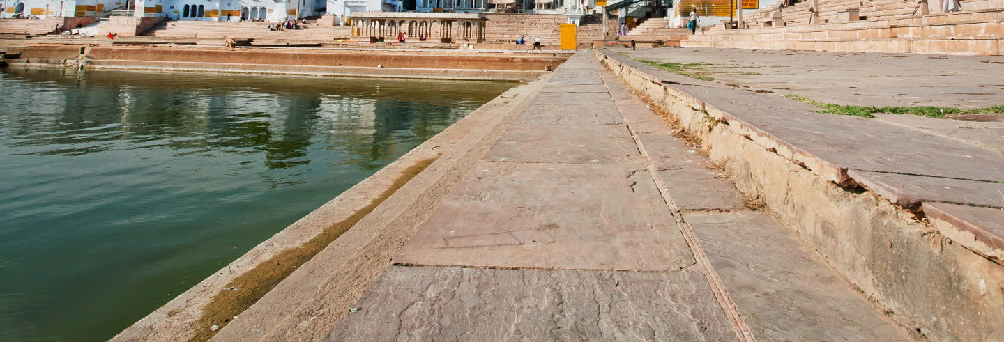 Pushkar Ghats Walking Tour