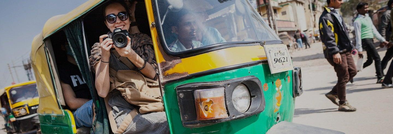 Tour de tuk tuk por Varanasi