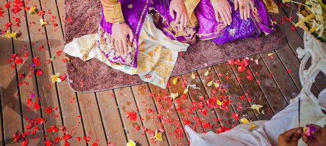 Boda balinesa ¡Cásate con el rito tradicional!