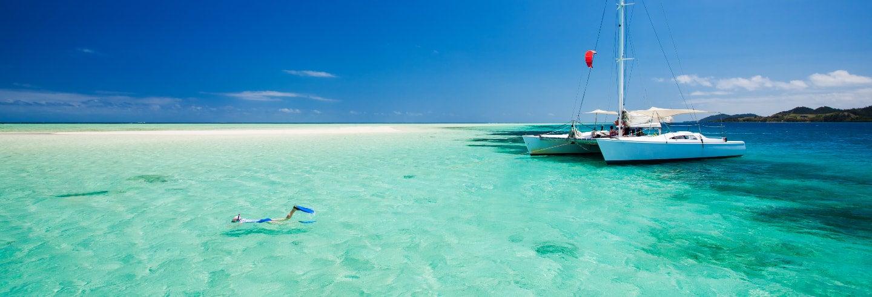 Excursión a la isla Lembongan en catamarán