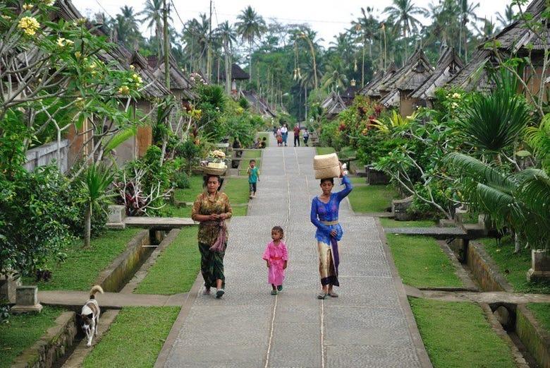 Aldea tradicional de Bali