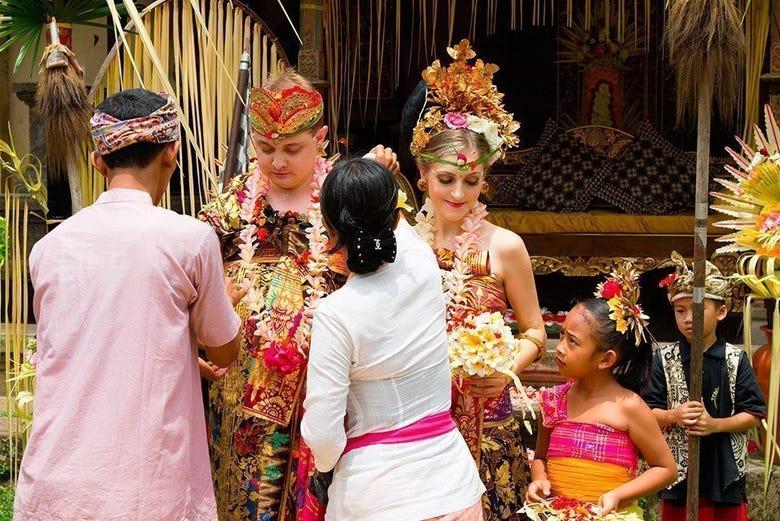Boda balinesa tailandia