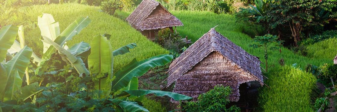 Aldeia tradicional de Bali