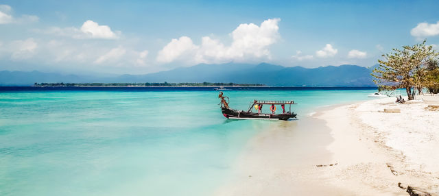 Transfer até as Ilhas Gili de lancha