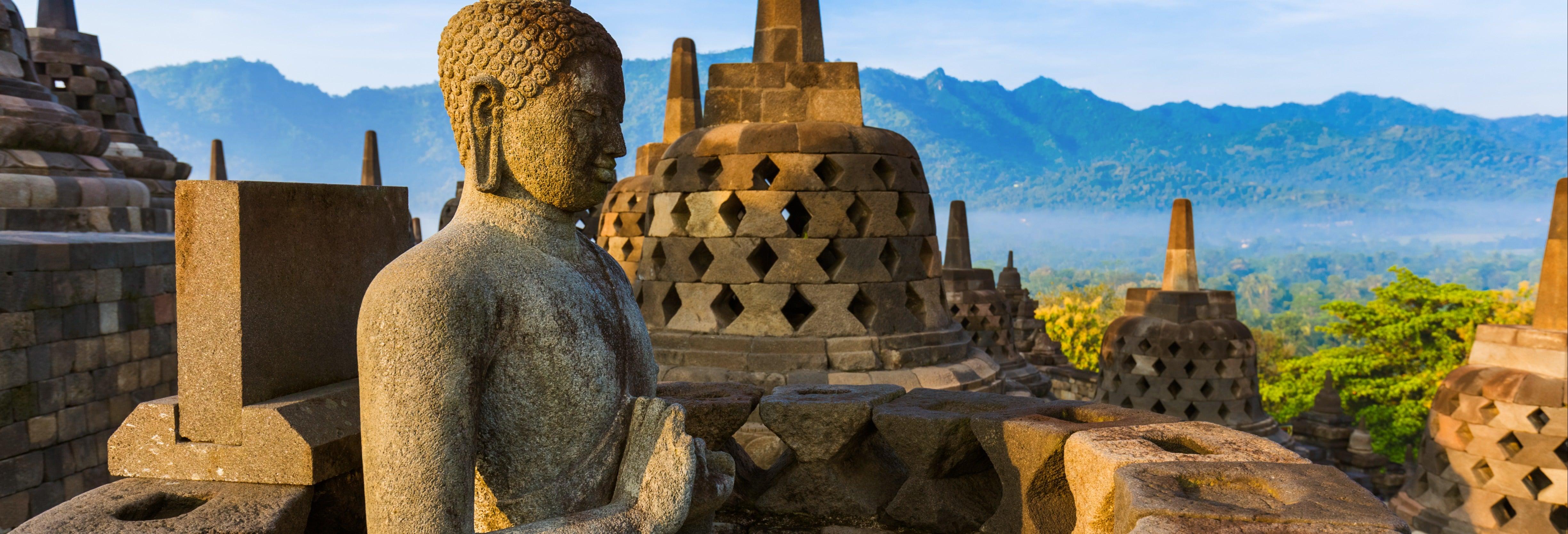 Excursión a los templos de Borobudur y Prambanan