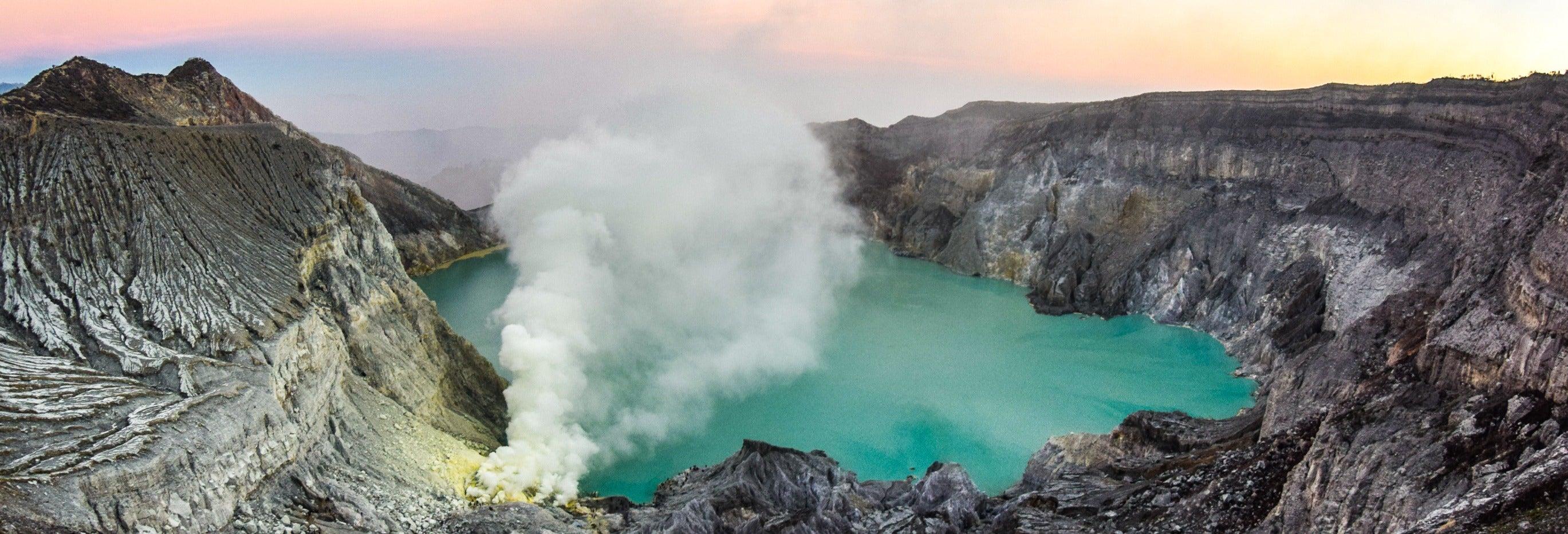 3 días por el Monte Bromo e Ijen desde Surabaya hasta Bali