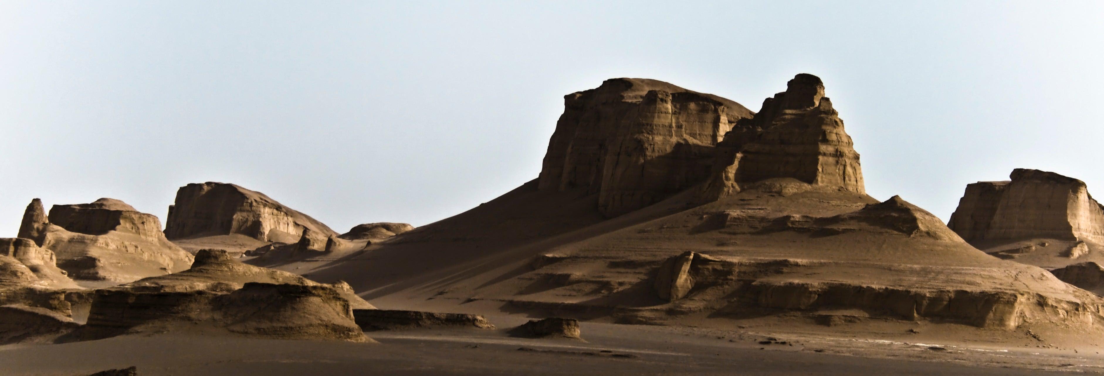 Desert safari por los kaluts de Shahdad