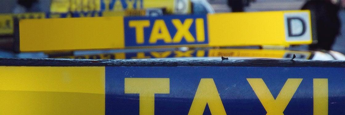 Táxis em Dublin