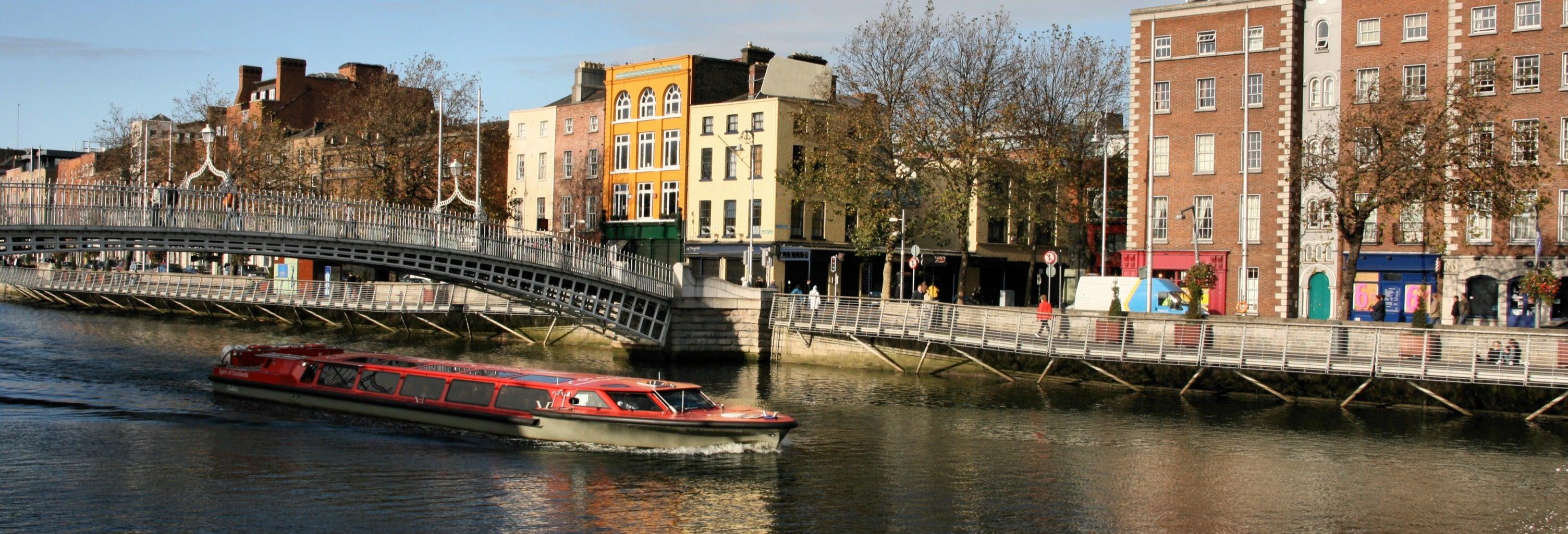 Passeio de barco por Dublin