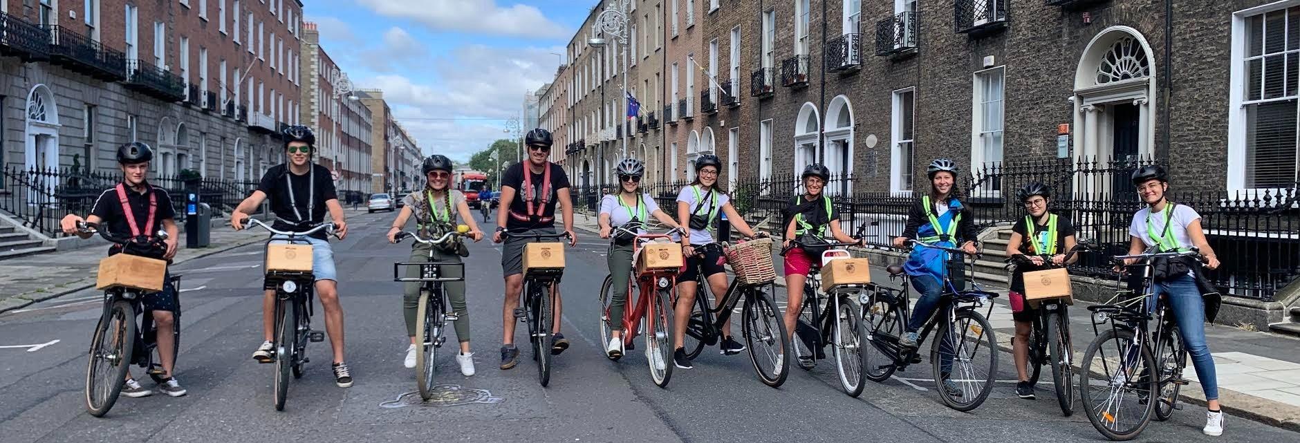 Tour di Dublino in bicicletta