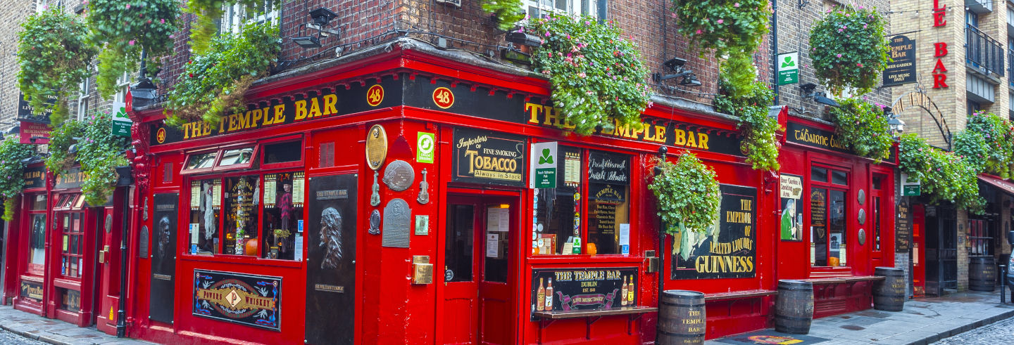 Dublin Temple Bar Pub Crawl