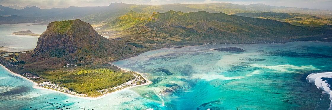 Como chegar às Ilhas Maurício