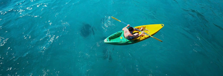 Tour en kayak por la Isla de Ambre
