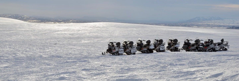 Aventure en motoneige + Grotte de glace Langjökull