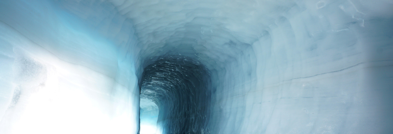 Tour pela gruta de gelo do glaciar Langjökull
