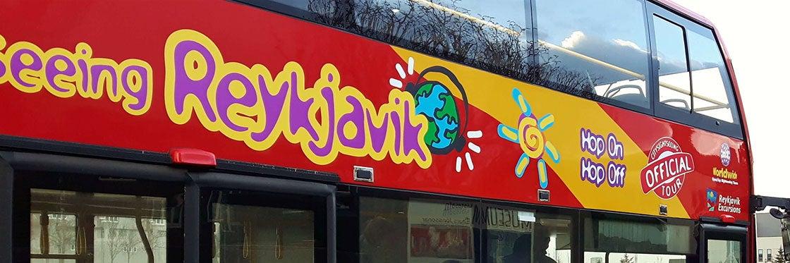 Ônibus turístico de Reykjavík