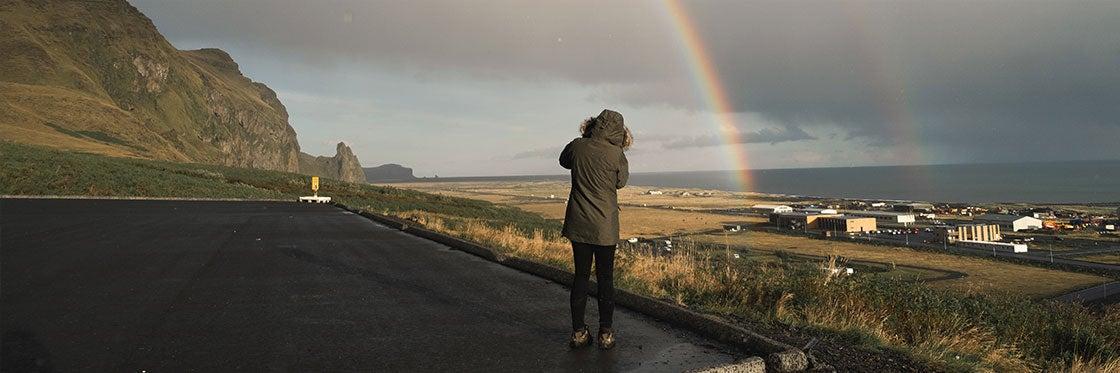 O tempo na Islândia