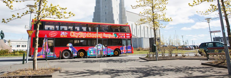 Autobús turístico de Reikiavik