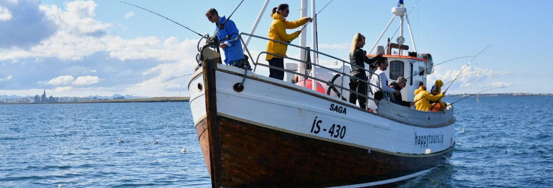 Reykjavik Fishing Trip