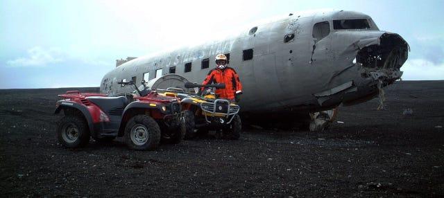 Tour de quadriciclo pela costa sul da Islândia