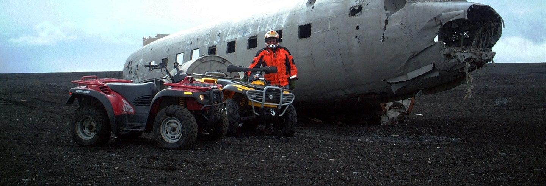 Tour en quad por la costa sur de Islandia