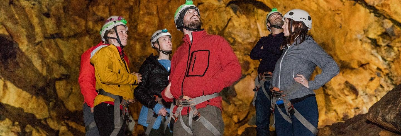 Tour por el túnel de lava Thrihnukagigur