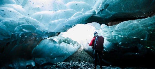 Trekking por el glaciar Vatnajökull + Cueva de hielo azul