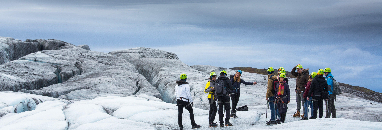 Trekking por el glaciar Vatnajökull