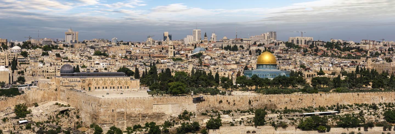 Excursion à Jérusalem, à Bethléem et à la mer Morte