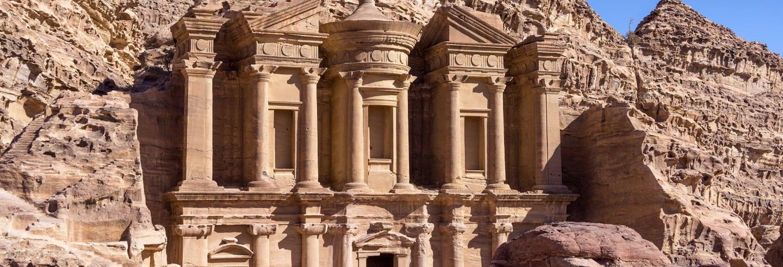 Excursão a Petra de avião