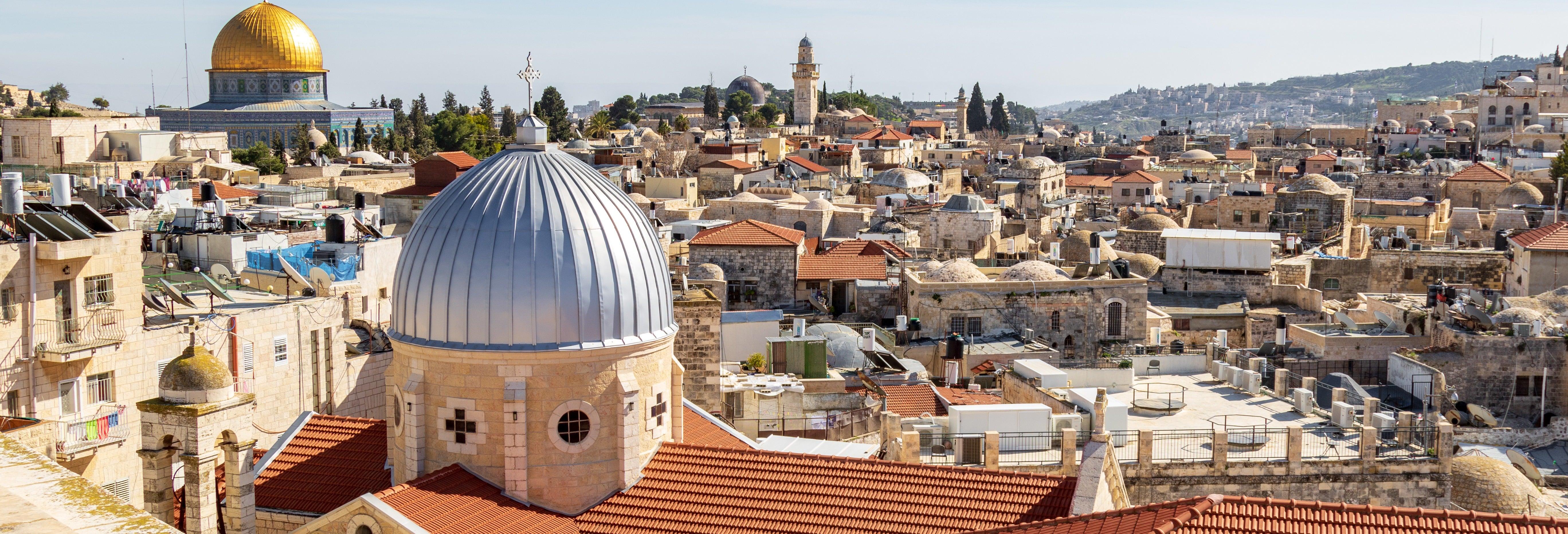 Visita guiada por Jerusalén al completo