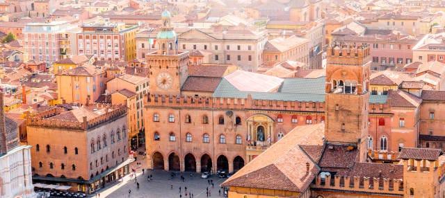 Tour de Bolonia para Instagram