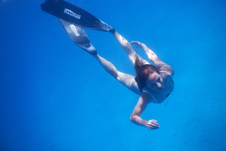 Snorkel en el golfo de Orosei