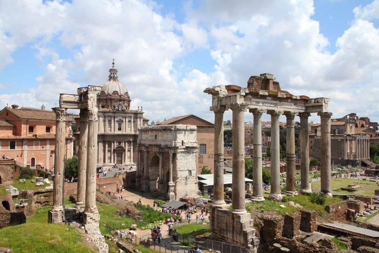 Excursión a Roma desde Civitavecchia