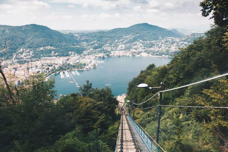 Tour por el Lago de Como y Brunate