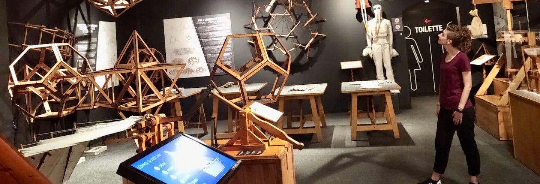 Biglietti per il Leonardo da Vinci Interactive Museum