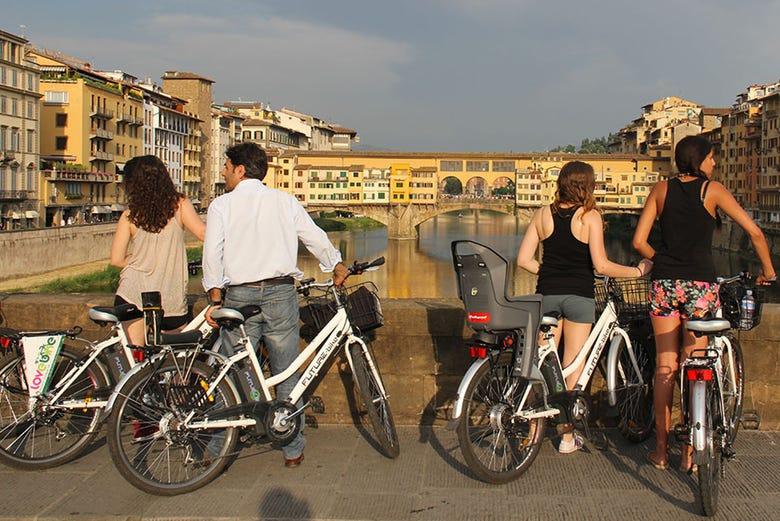 Tour en bicicleta eléctrica por Florencia y Plaza Michelangelo