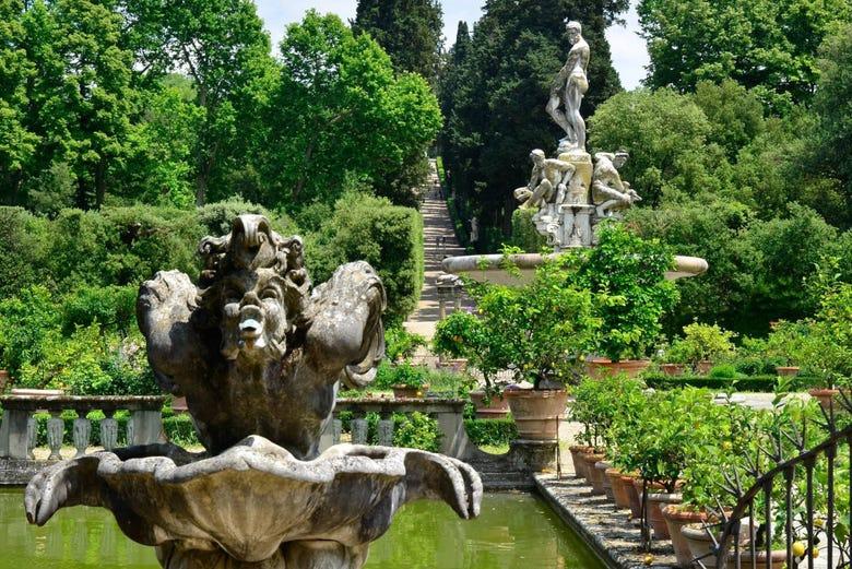 Visita guiada por los Jardines de Boboli